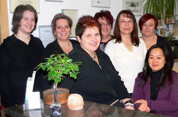 Team der Hausarztpraxis Gingen
